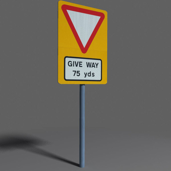 3d road sign coz100918518 model