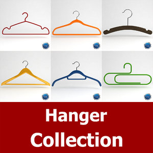 3d 3ds clothes hanger clotheshanger