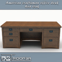 3ds executive office desk