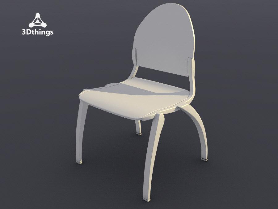 conference chair dublin 4-leg 3d max
