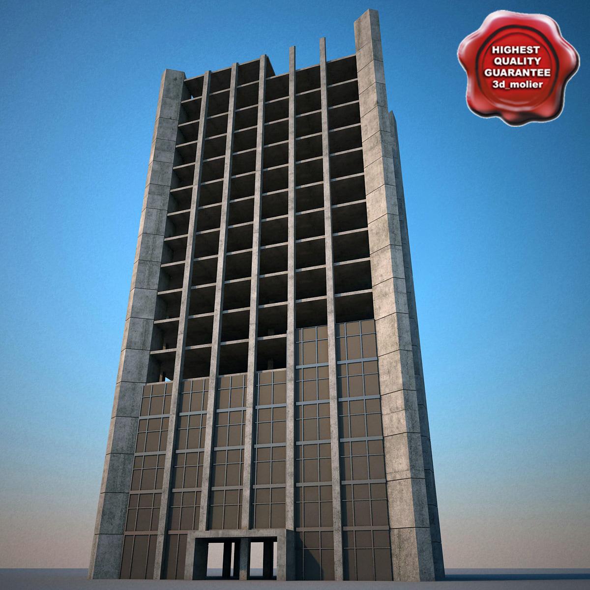 building construction v7 3d model