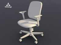 3ds max conference chair concept swivel