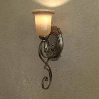 concor 356 sconce light 3d 3ds