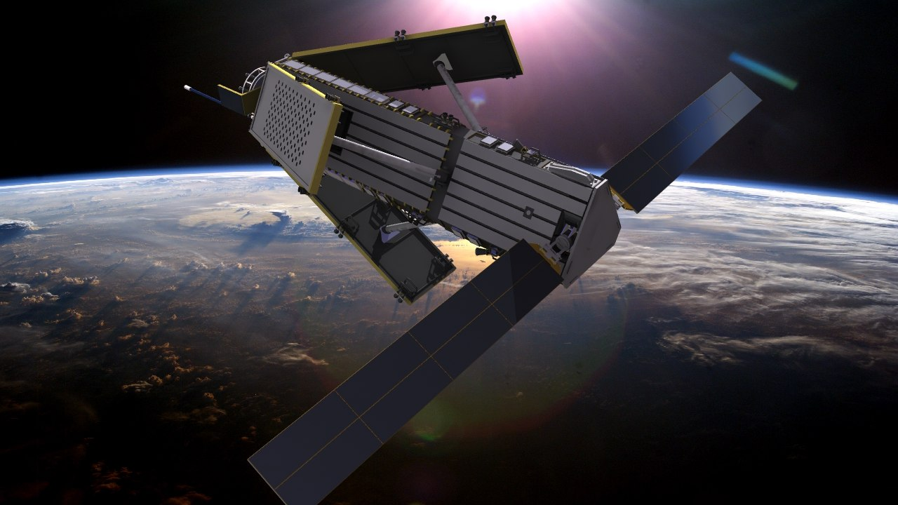 russian military spy satellite 3d max