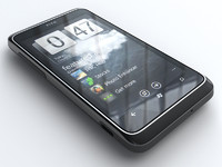 htc 7 trophy mobile phone 3d model