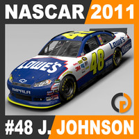 Nascar 2011 Car - Jimmie Johnson Chevrolet Impala #48
