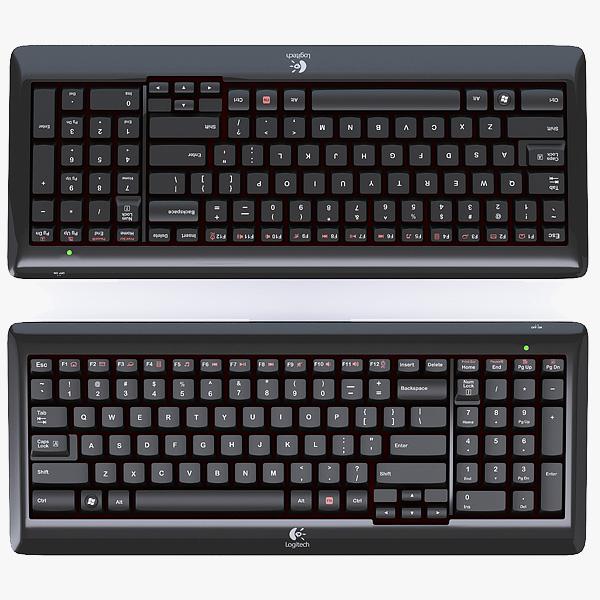 logitech wireless keyboard k340 fbx