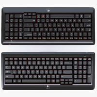 3d logitech wireless keyboard k340