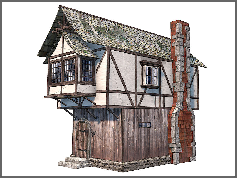 max medieval town building games