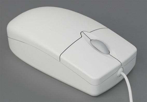 computer mouse 3d max