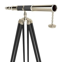 3d pewter telescope themocol model