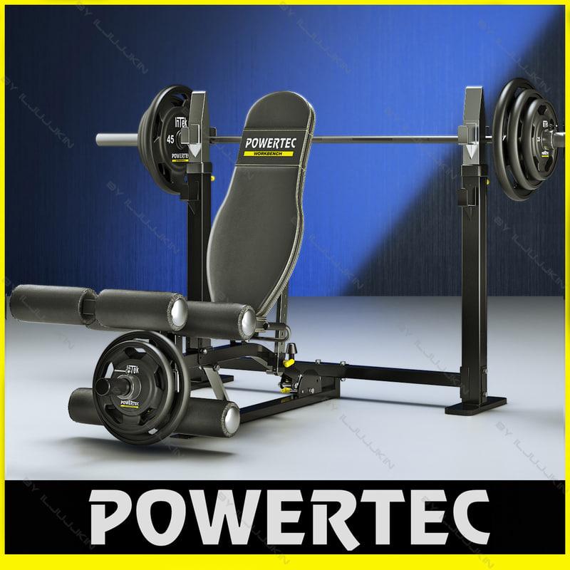 powertec wb-lla10 power leg 3ds