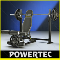 powertec wb-lla10 power leg 3ds