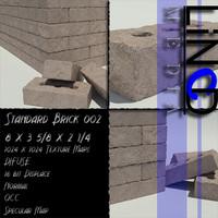 bricks maps 3d model