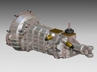 3d model transmission manual t56 w