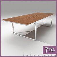 office table aplomb 3d max