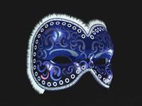 Venetian Carnival Mask 09
