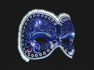 3d venetian mask model