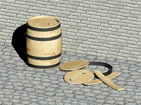 Wooden barrels - 25 liters