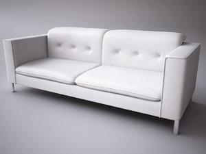 3d model calligaris grace romantic sofa