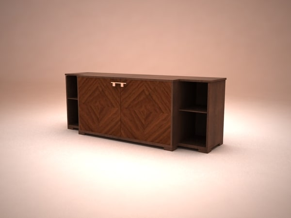3d model smania chester deluxe sideboard