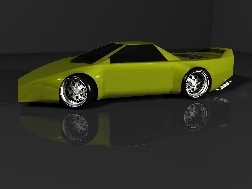 concept car 3d max