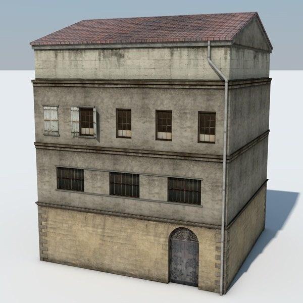 3d build model