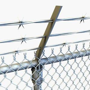 3dsmax fence lod