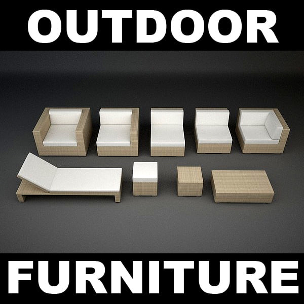 max rattan lounge furniture set