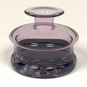 ink pot inkpot 3d 3ds