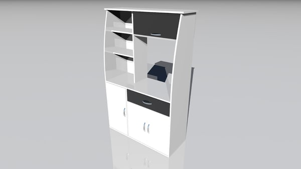 3d furniture kitchen model