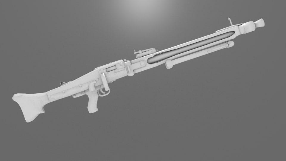 obj mg42 light machinegun