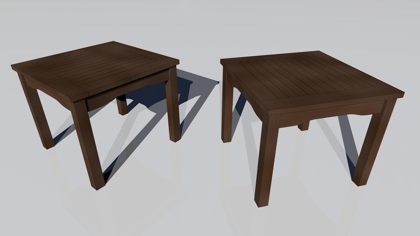 3d model night table