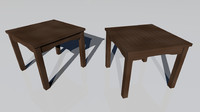 3d model night table