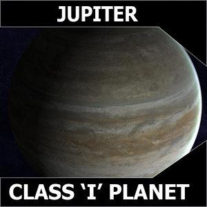 planet jupiter 3d max