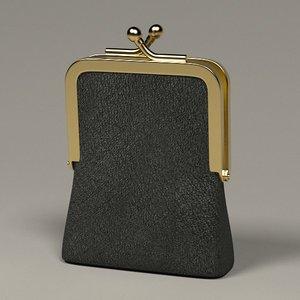 3d money purse
