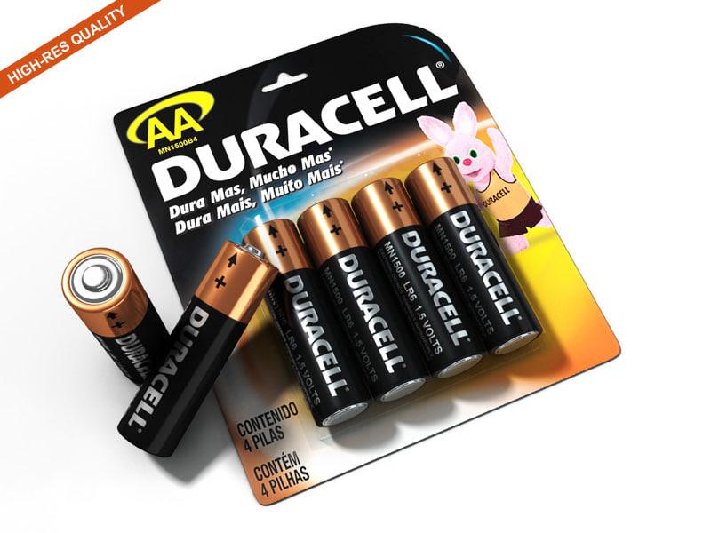 3dsmax battery duracell