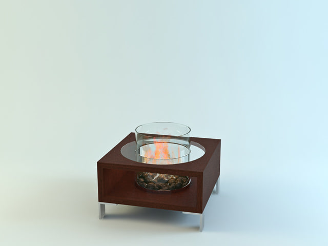 max planika decor glassfire