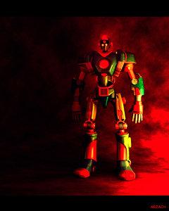 robot sentinel mech 3d model