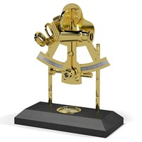sextant compass 3d model