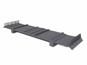 3d model bridge segment