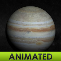 3dsmax jupiter mapped