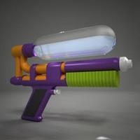 3d water gun watergun