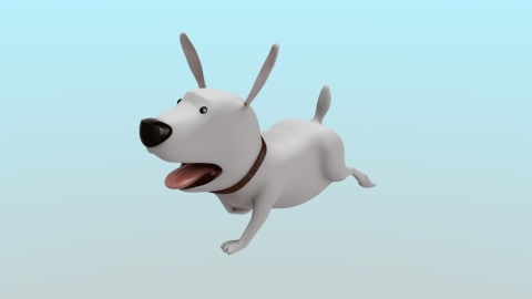 dog cartoon 3ds