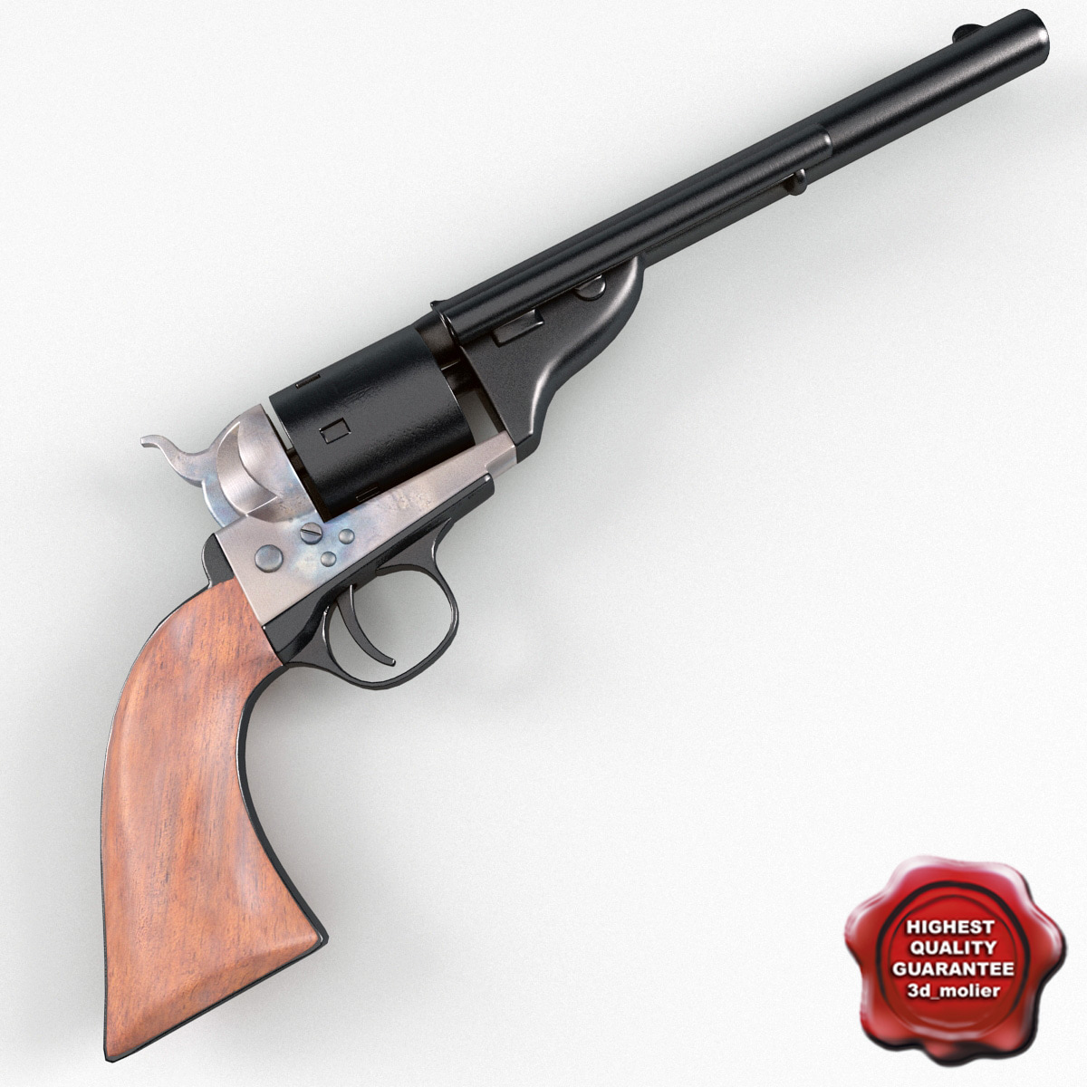3d 1872 colt open model