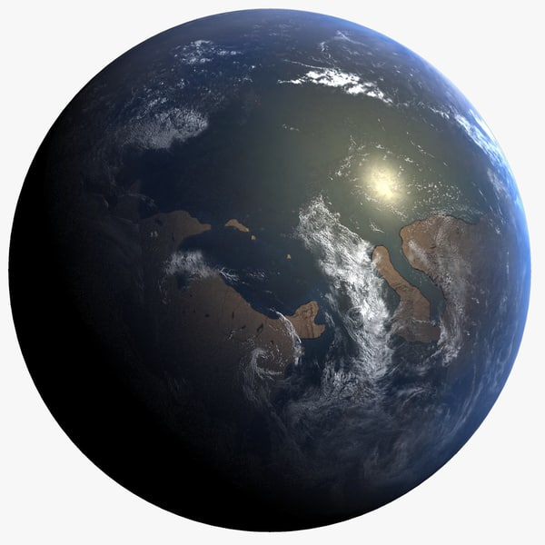 3d cambrian earth early model