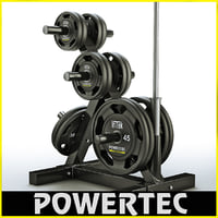 Powertec WB-DR10 weight rack