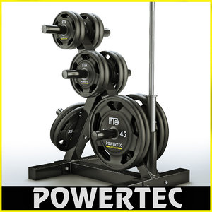 3d powertec wb-dr10 weight rack