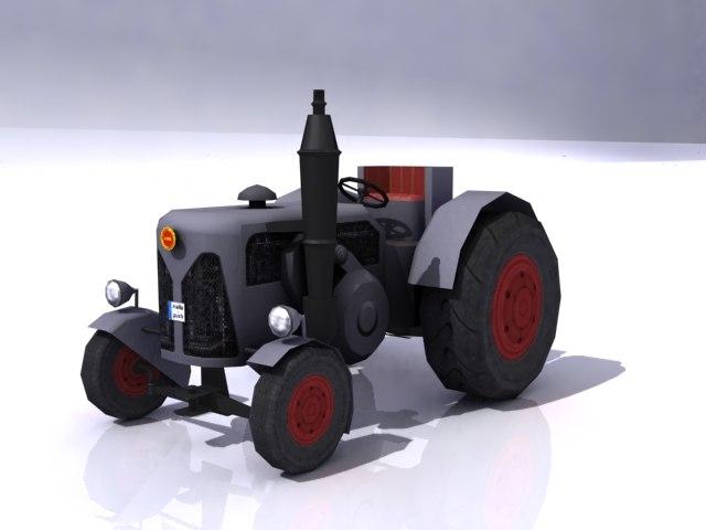 3dsmax tractor
