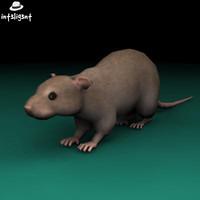 rat 3d 3ds